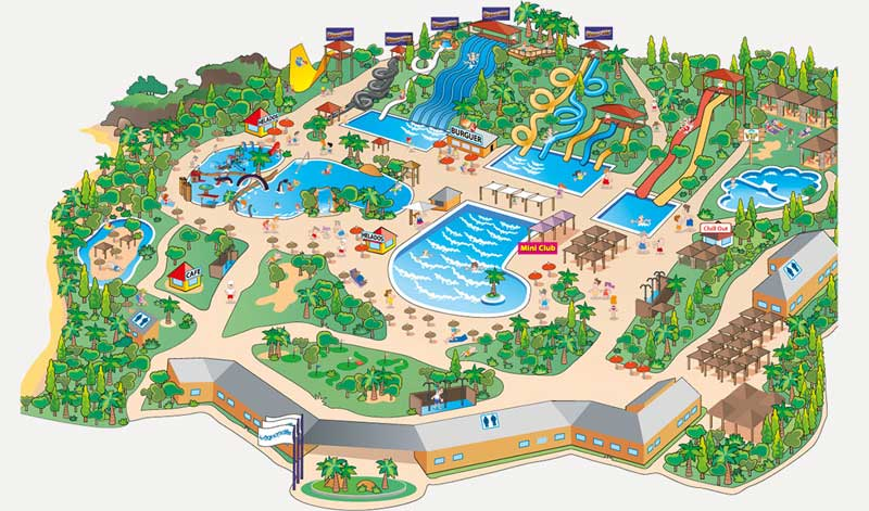aquopolis Attraction map