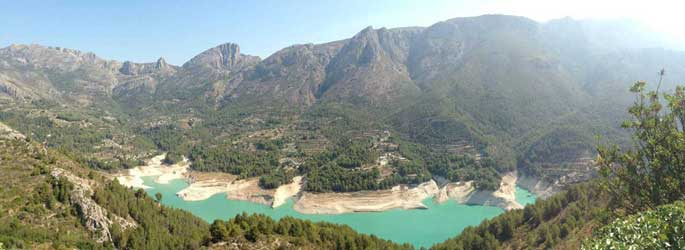 Guadalest valle