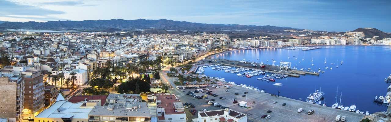San Javier en Murcia, Costa Calida