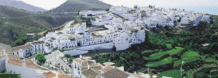 El pueblo de Frigiliana