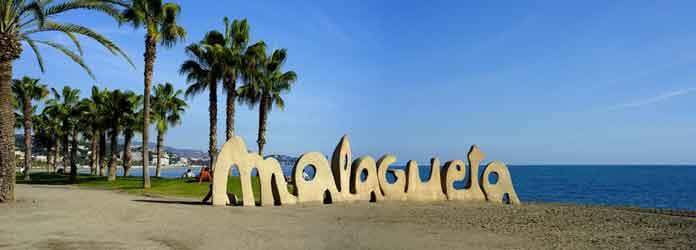 Malaga beaches, playa la malagueta