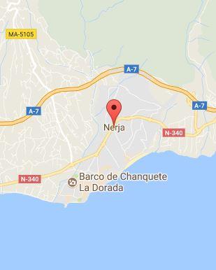 Mapa de Nerja