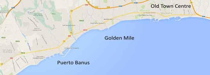 puerto banus, La Milla de Oro