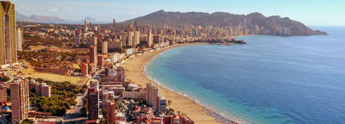 Benidorm Weather in Winter