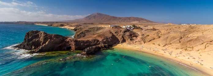 Lanzarote, Papagayo beach