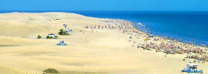 Tiempo en verano en Gran Canaria