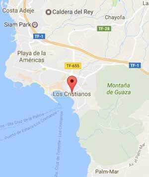 los cristianos mapa