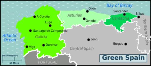 Costa Verde Mapa