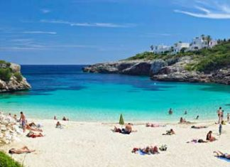 beaches of Majorca