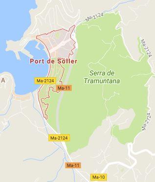 Port de Sóller Mapa