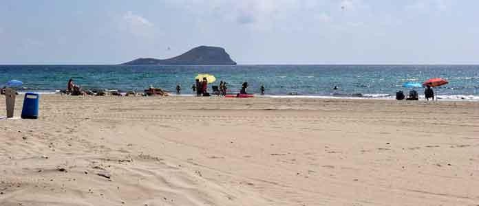 Playa El Arenal, la Manga