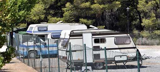 Instalaciones de Camping Algar