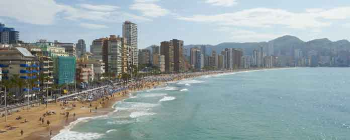 Playa Levante, Benidorm