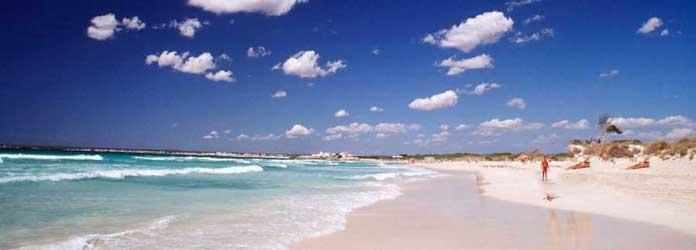 Playa de es Trenc en Mallorca