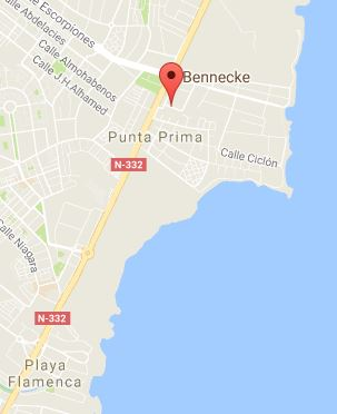 Punta Prima, Orihuela Costa Map